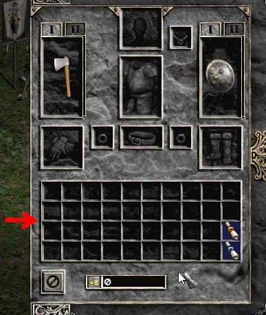 Инвентарь Diablo 2